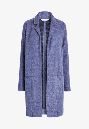CHOCOLATE REVERE COATIGAN - Płaszcz wełniany /Płaszcz klasyczny - blue