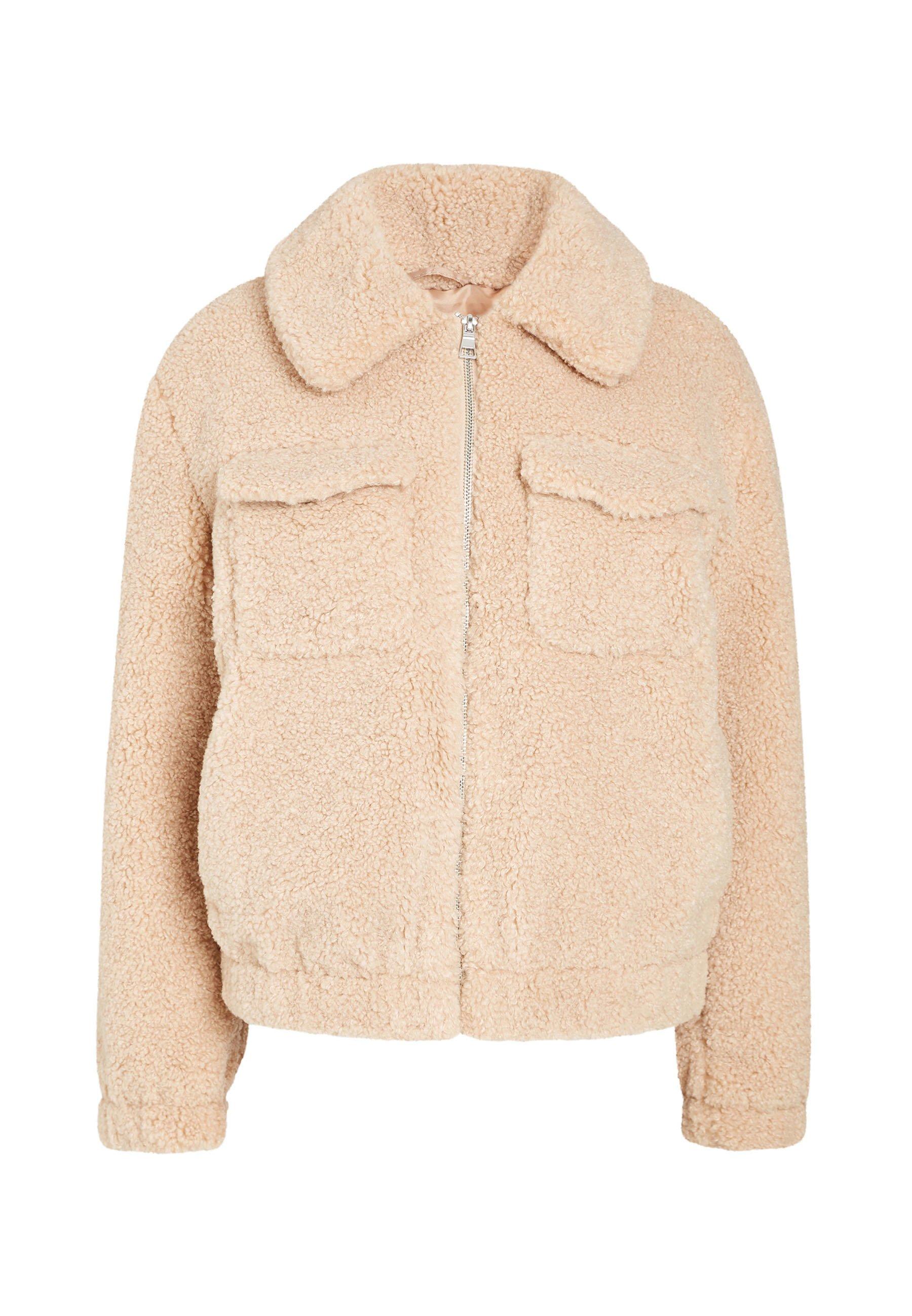 Next Neutral Teddy Borg Western Jacket - Vinterjacka Beige