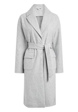 GREY BELTED COAT - Classic coat - grey