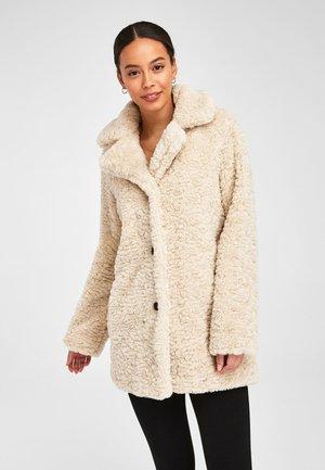 TEDDY BORG - Winter coat - off-white