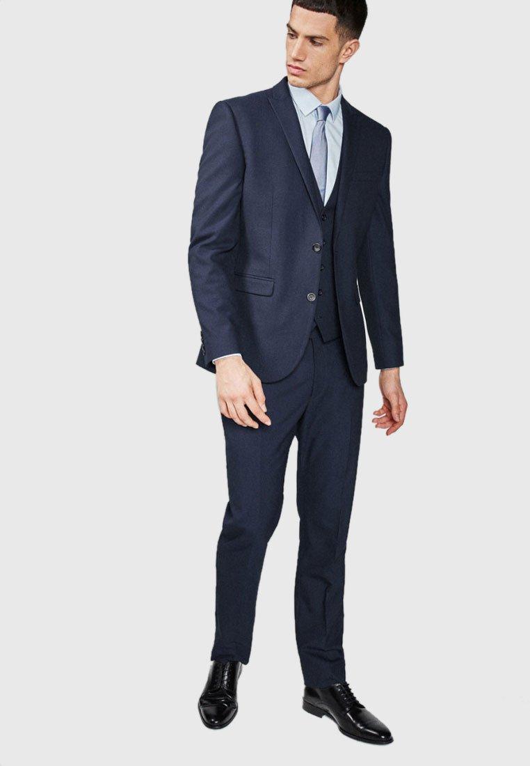 Next - SLIM FIT - Blazer jacket - dark blue