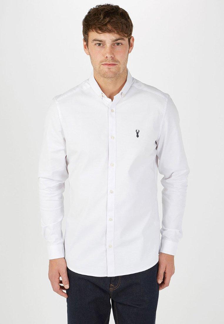 Next LONG SLEEVE STRETCH OXFORD - Koszula - white