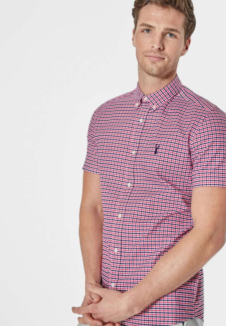 Next - GINGHAM - Shirt - red