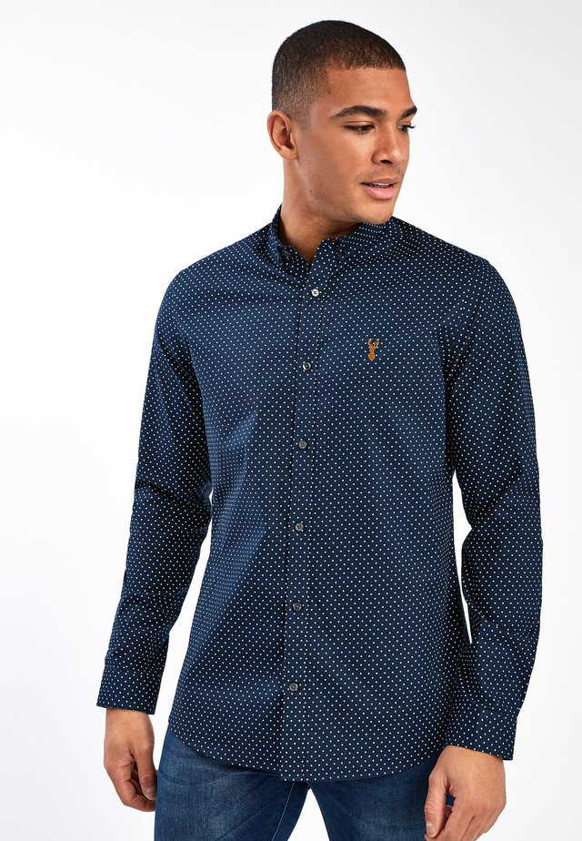 LONG SLEEVE - Shirt - dark blue