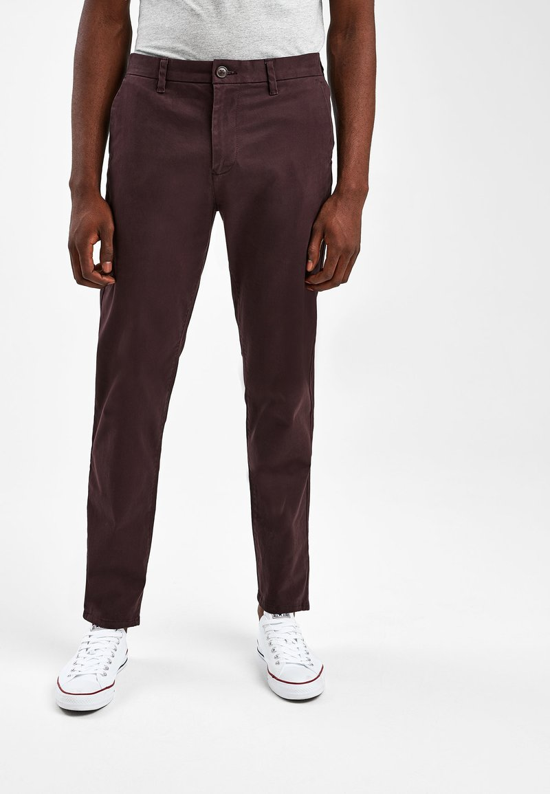 Next - Chinos - red