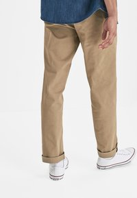 Next - STRETCH CHINOS- LOOSE FIT - Chinot - beige - 1