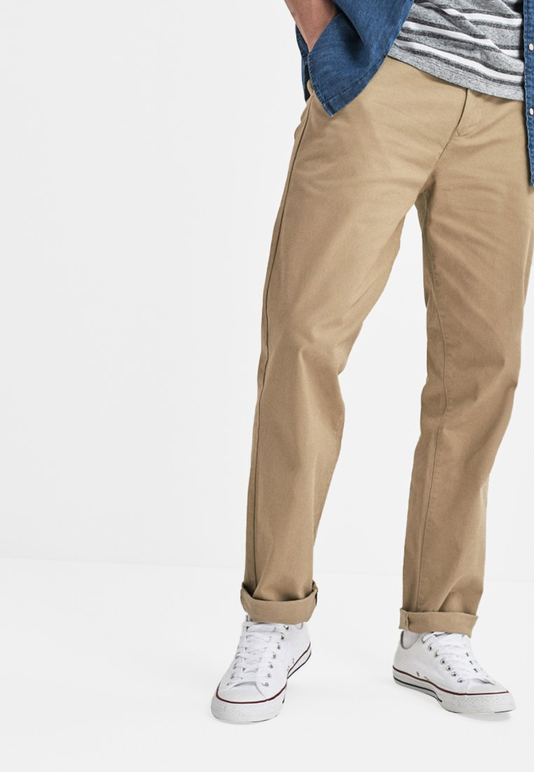 Next - STRETCH CHINOS- LOOSE FIT - Chinot - beige