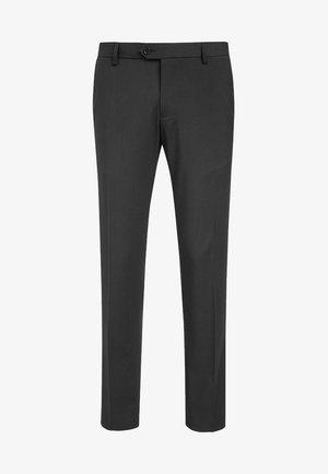 Oblekové kalhoty - black