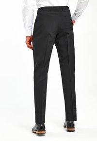 Next - BLACK TWO PACK TROUSERS - Pantaloni - black - 1