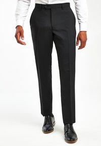 Next - BLACK TWO PACK TROUSERS - Pantaloni - black - 0