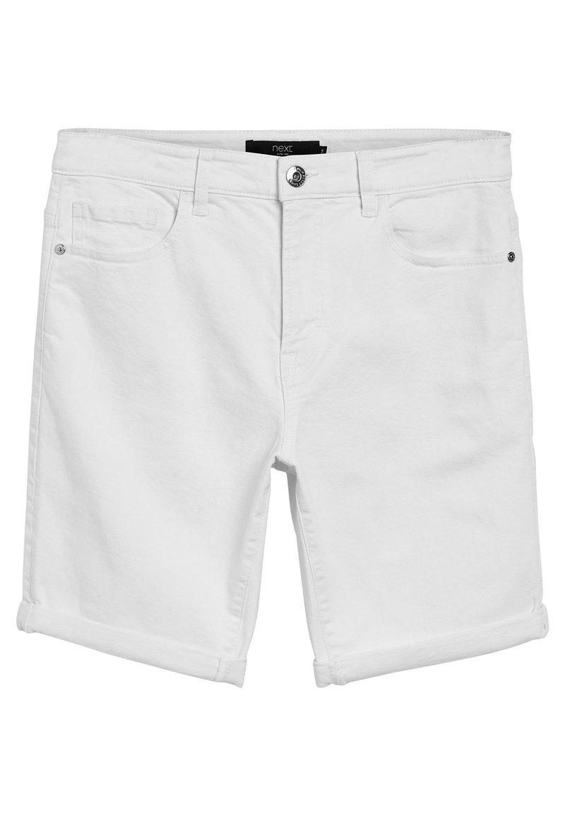 Next - Shorts di jeans - white