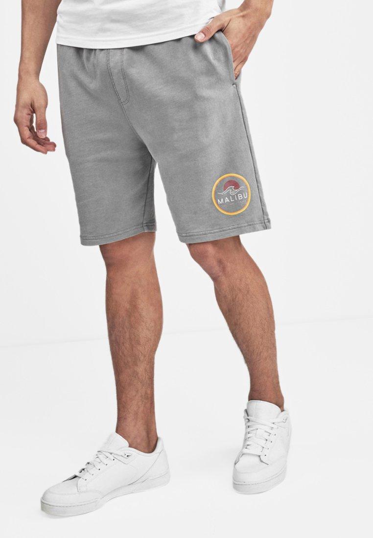 Next - GRAPHIC - Shorts - grey