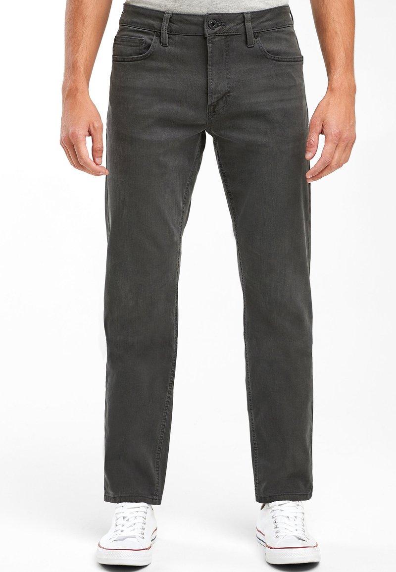 Next - ULTRA FLEX - Slim fit jeans - grey