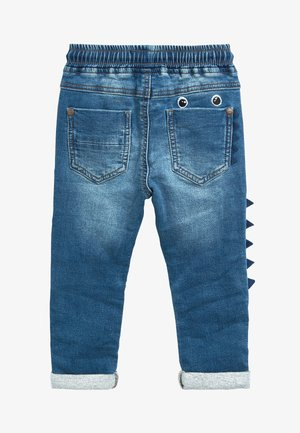 MID BLUE MONSTER CHARACTER JEANS (3MTHS-7YRS) - Džíny Slim Fit - blue