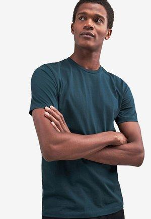 CREW NECK - T-shirt basique - evergreen
