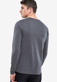 Next - Camiseta de manga larga - dark grey - 1