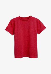 Next - CREW NECK T-SHIRT (3-16YRS) - T-shirt basic - red - 0