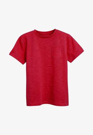CREW NECK T-SHIRT (3-16YRS) - T-shirts basic - red