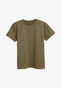 Next - CREW NECK T-SHIRT (3-16YRS) - T-shirt basic - khaki - 0