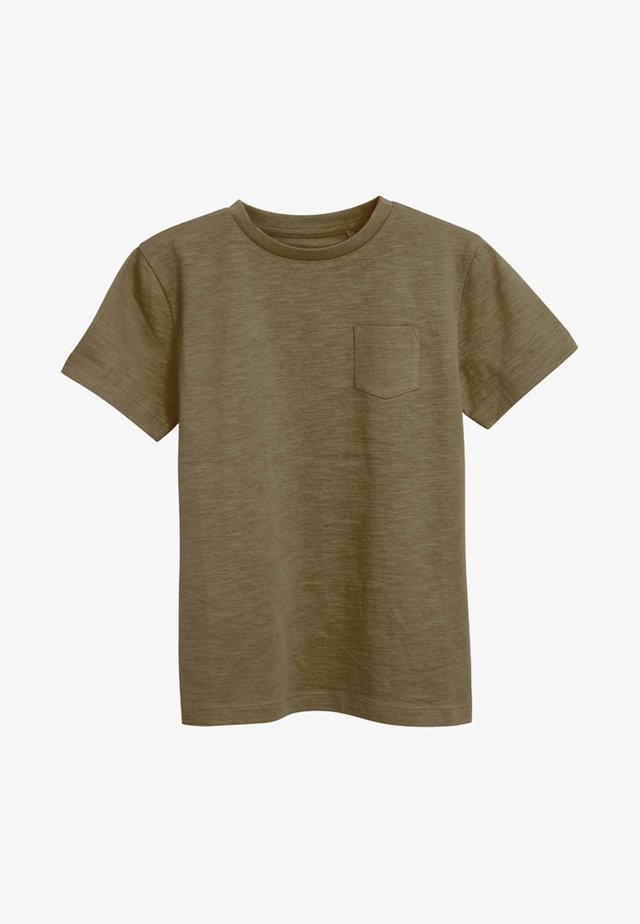 CREW NECK T-SHIRT (3-16YRS) - Camiseta básica - khaki