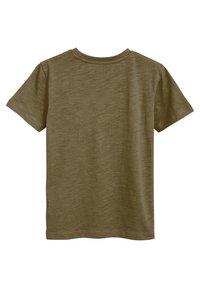 Next - CREW NECK T-SHIRT (3-16YRS) - T-shirt basic - khaki - 1