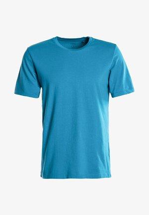 TERRACOTTA SLIM FIT CREW NECK T-SHIRT - T-shirt - bas - blue