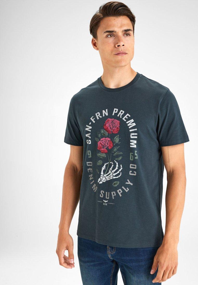 Next - T-Shirt print - gray