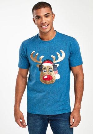 FAMILY FLIPPY - Print T-shirt - blue
