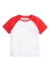 Next - MULTI 5 PACK TRANSPORT T-SHIRTS (3MTHS-7YRS) - T-shirt imprimé - blue - 4