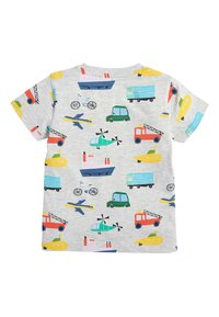 Next - MULTI 5 PACK TRANSPORT T-SHIRTS (3MTHS-7YRS) - T-shirt imprimé - blue - 2