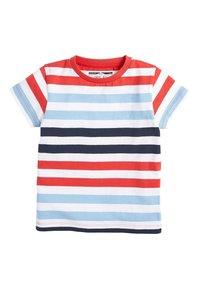 Next - MULTI 5 PACK TRANSPORT T-SHIRTS (3MTHS-7YRS) - T-shirt imprimé - blue - 6