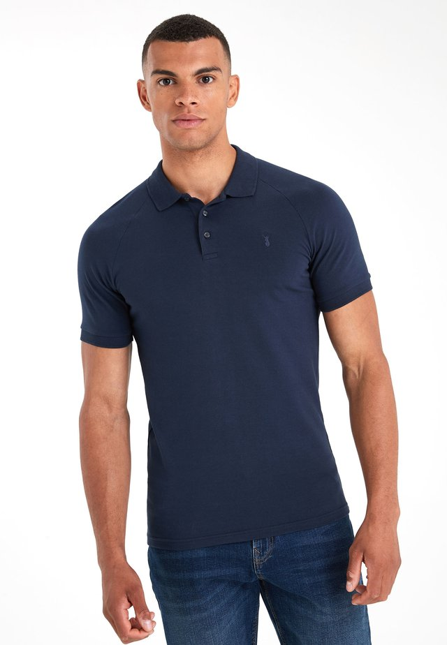 MUSCLE FIT  - Polo shirt - blue