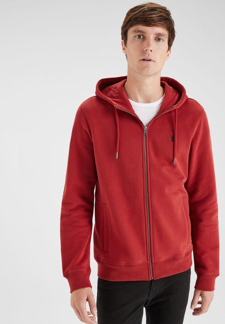Next - Zip-up hoodie - red