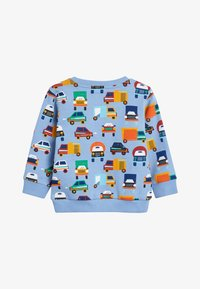 Next - BLUE CAR ALL OVER PRINT CREW TOP (3MTHS-7YRS) - Sweater - blue - 1