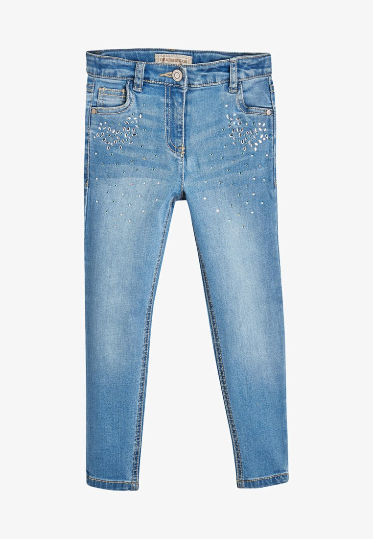 Next - CRYSTAL EFFECT  - Jeans Skinny Fit - blue