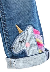 Next - BLUE UNICORN PULL-ON JEANS (3MTHS-7YRS) - Jeans Skinny Fit - blue - 3
