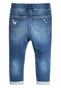Next - BLUE UNICORN PULL-ON JEANS (3MTHS-7YRS) - Jeans Skinny Fit - blue - 1