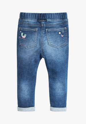 BLUE UNICORN PULL-ON JEANS (3MTHS-7YRS) - Jeans Skinny Fit - blue