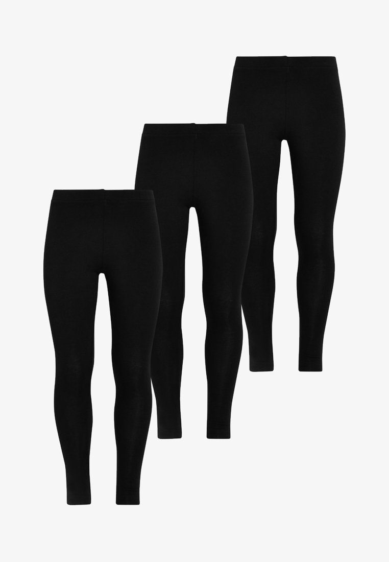 Next - 3 PACK - Leggings - Trousers - black