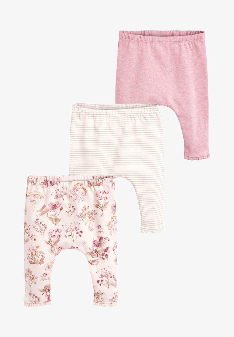 Next - 3 PACK - Leggings - pink