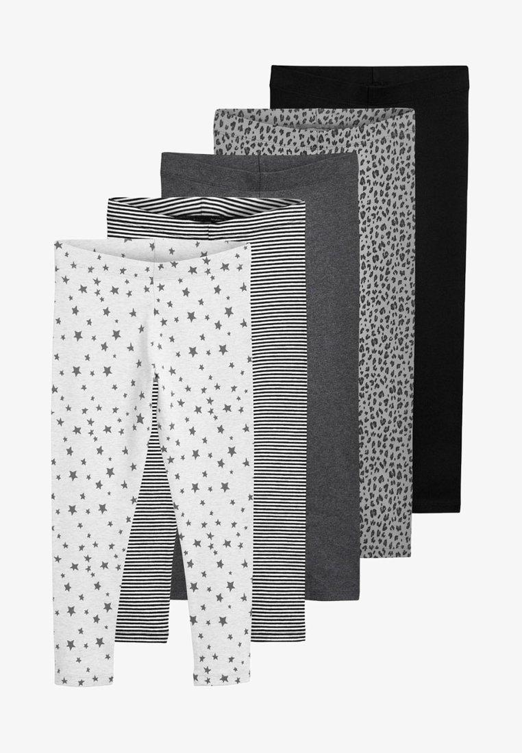 Next - 5 PACK - Leggings - Trousers - gray