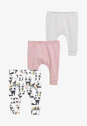 THREE PACK  - Pantalones - pink