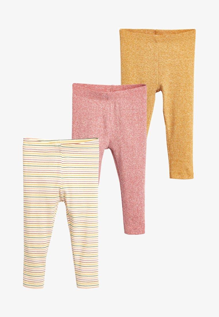 Next - 3 PACK - Leggings - Hosen - yellow