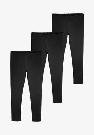 Leggings - Trousers - mottled black
