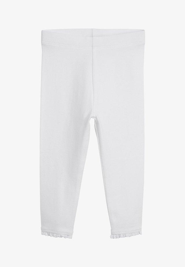 BASIC  - Legginsy - white