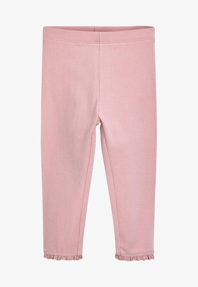 BASIC  - Legginsy - pink