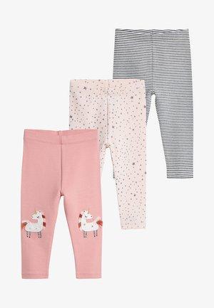 3PACK  - Legging - pink