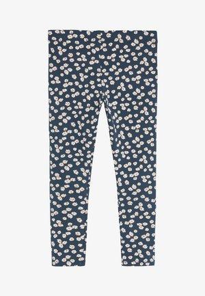 ANIMAL PRINT LEGGINGS (3-16YRS) - Leggings - Trousers - blue
