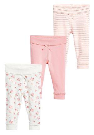 3 PACK LEGGINGS - Leggings - Trousers - pink