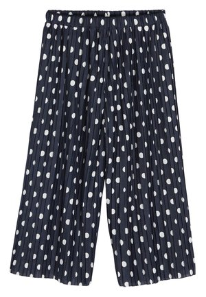 NAVY SPOT CULOTTES (3-16YRS) - Trousers - blue